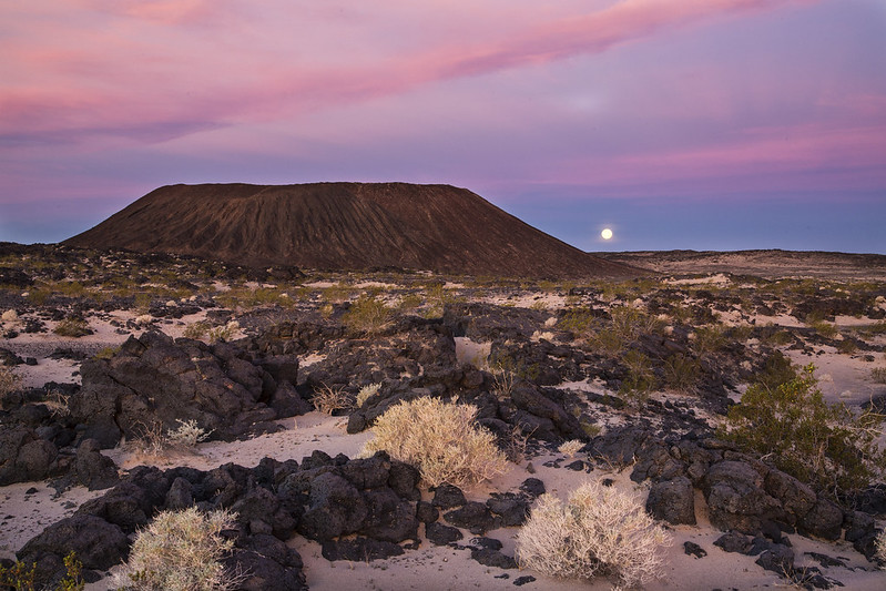 things to do in the mojave desert - visit amboy crater
