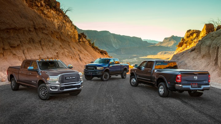 5 Best 3/4 Ton Trucks for Towing RV Trailers