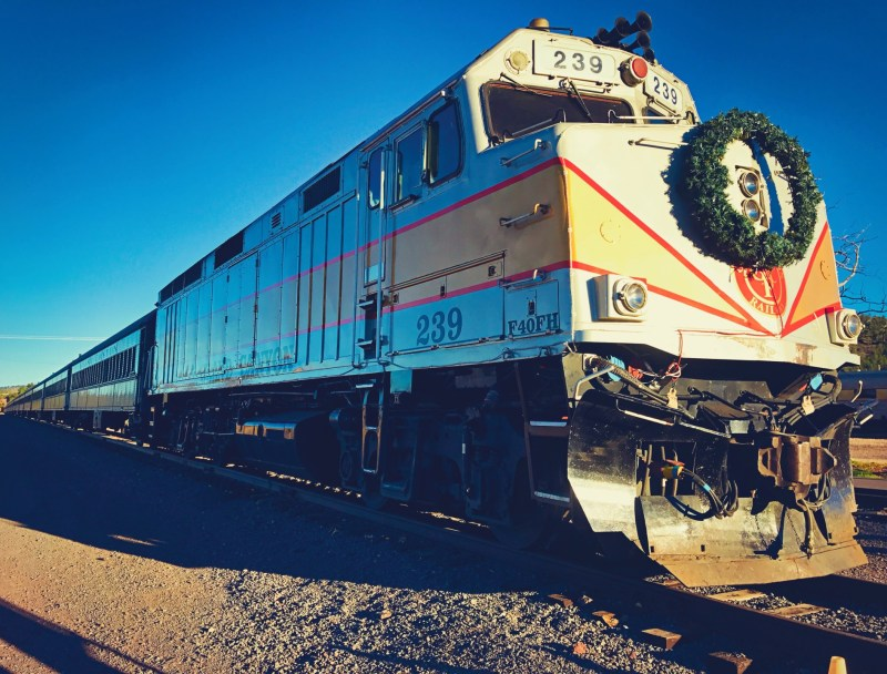 The Grand Canyon Railway is an all-day adventure.