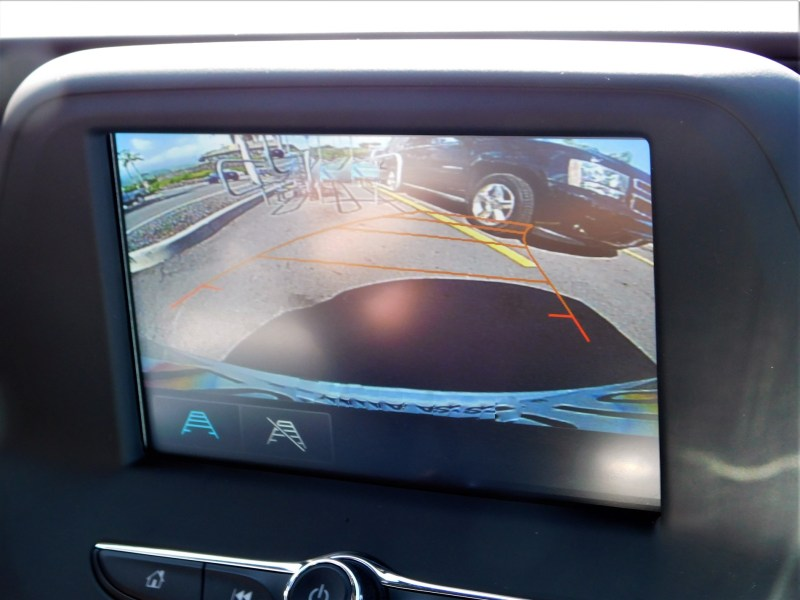Use back up camera to make hitching up an RV solo easier