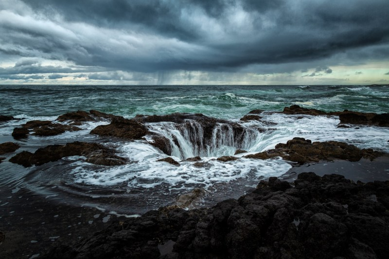 Thor's Well in Oregon.