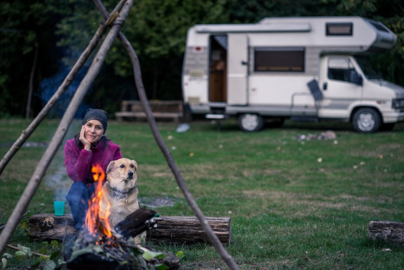 primitive camping in an rv. boondocking. free camping.