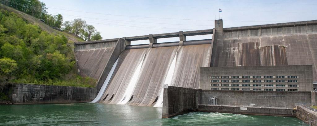 Norris Dam Reservoir.