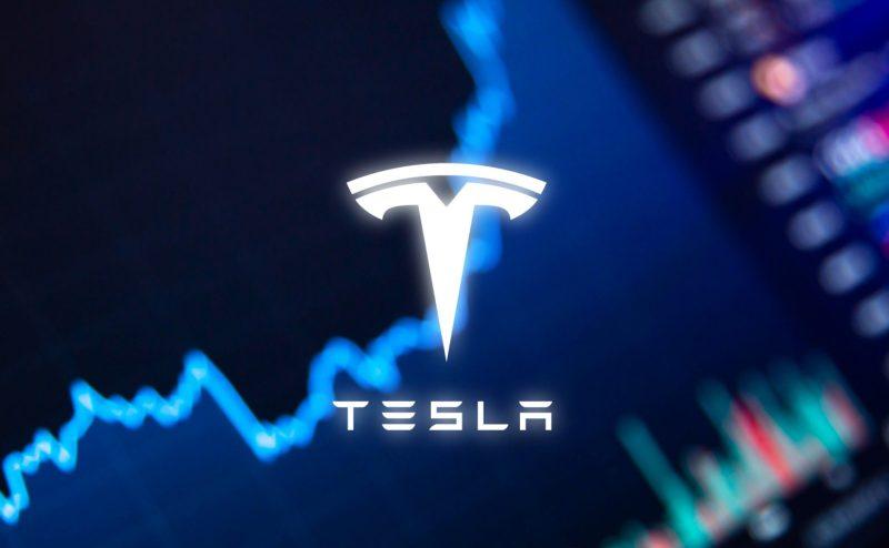 Image of Tesla logo.