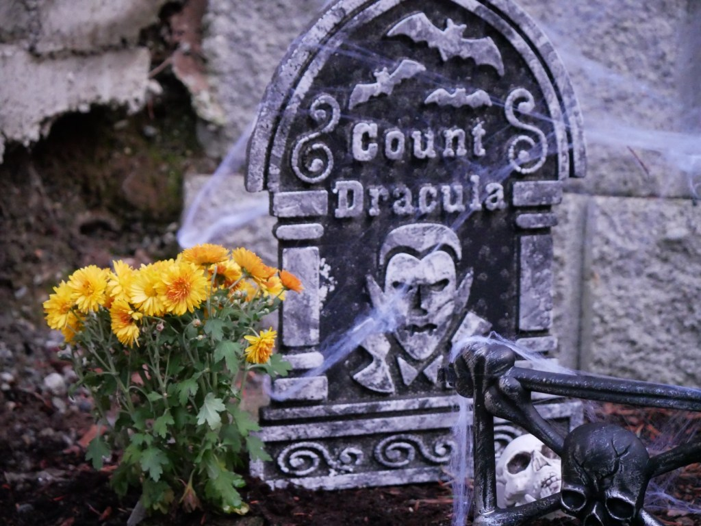 Count Dracula gravesite.