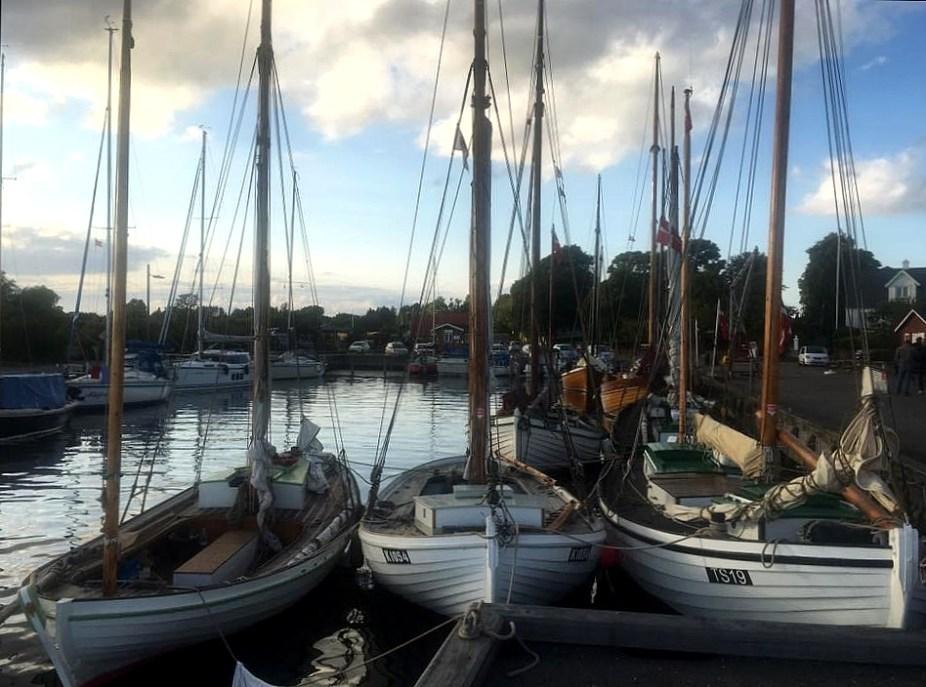 Kvaser i Dybvig Havn 2017. Foto: Hanne Hollnagel