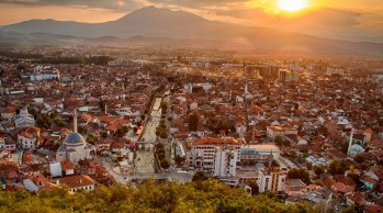 view from Prizren fortress