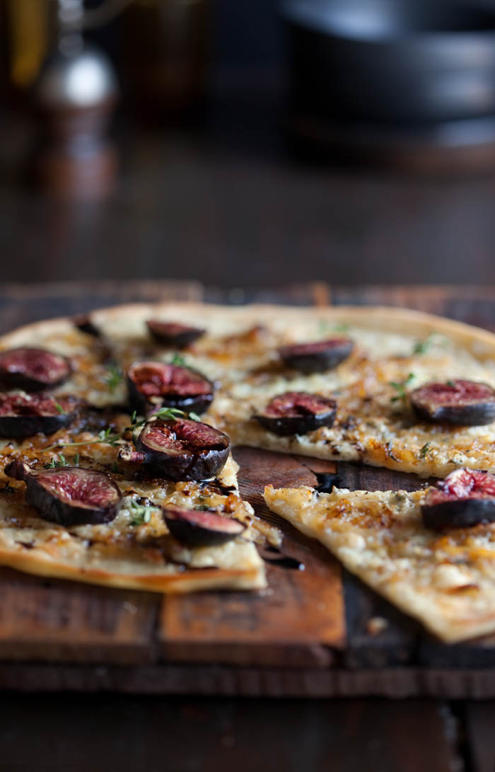 blue cheese, fig and balsamic