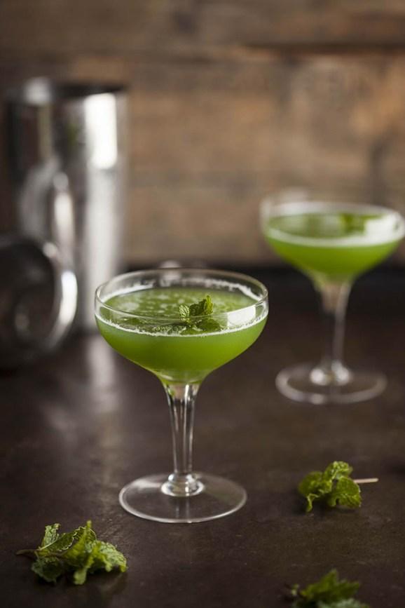 cucumber and gin martini