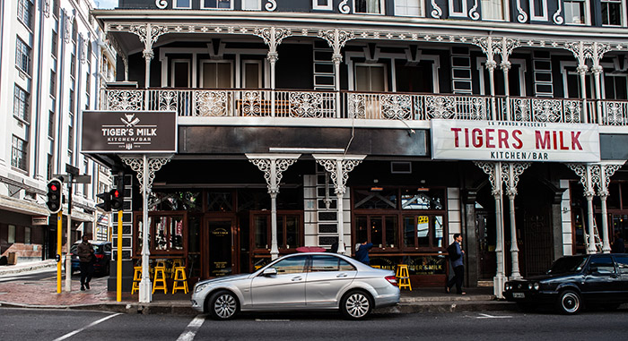 Tigers Milk, Long Street, Cape Town