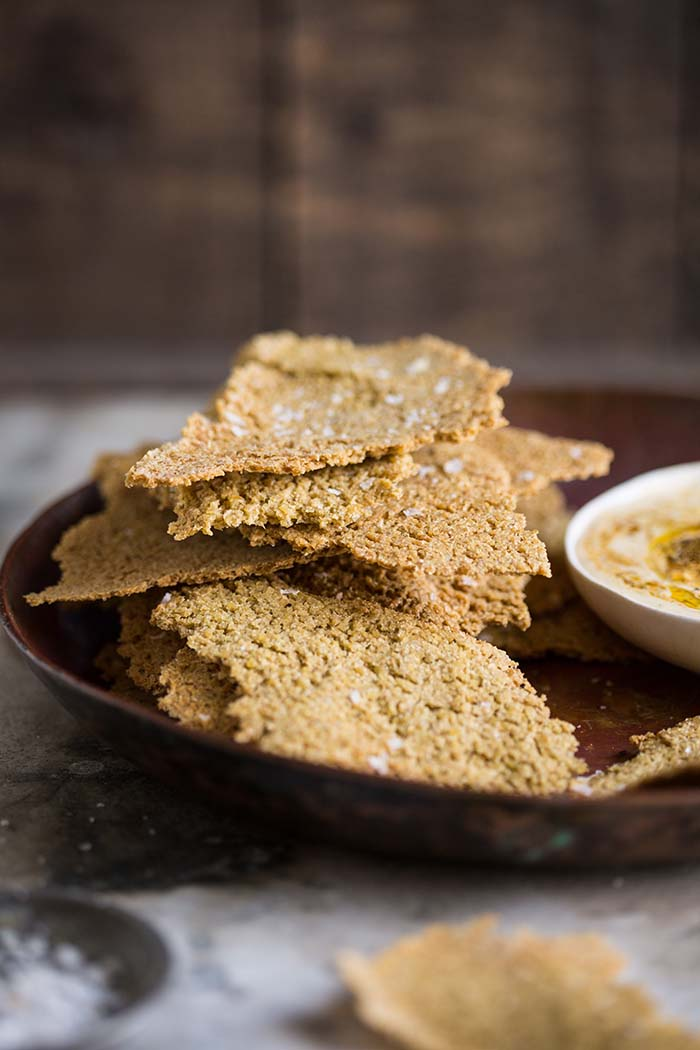 Dan Barbers one - ingredient whole grain cracker