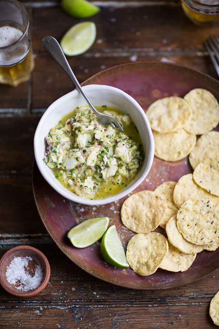 the most delicious peruvian ceviche