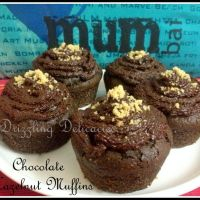 Chocolate Hazelnut Muffins