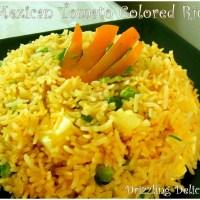 Mexican Tomato Colored Rice