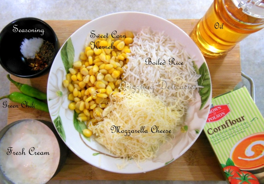 Sweet Corn and Cheese Chili Fritters (3/6)