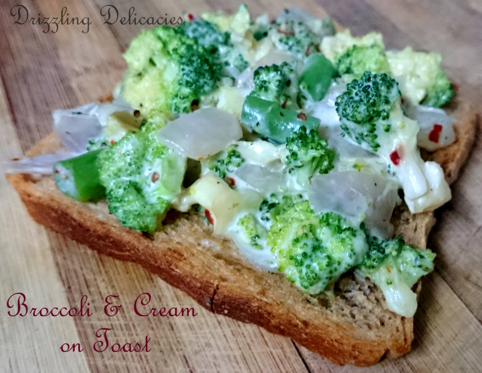 Broccoli and Cream on Toast (1/6)