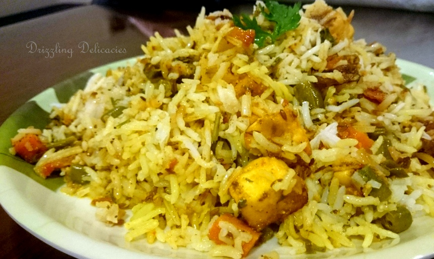 Vegetable Dum Biryani (2/6)