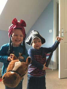 Being pirate cowboys