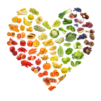 When you eat raw foods, you take in sunshine (light codes), feeding your light body. See the rainbow of colors? Raw foods embody the full spectrum of light.