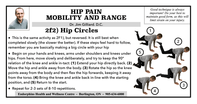 Active Hip Mobility Circles Reversed