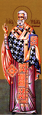 Orthodox Christian Icon of Sicilian Saint, Gregory of Girgenti