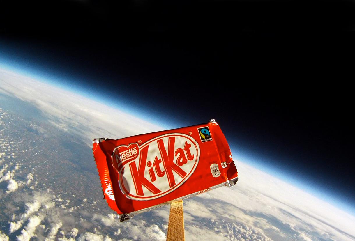 KitKat – #breakfromgravity