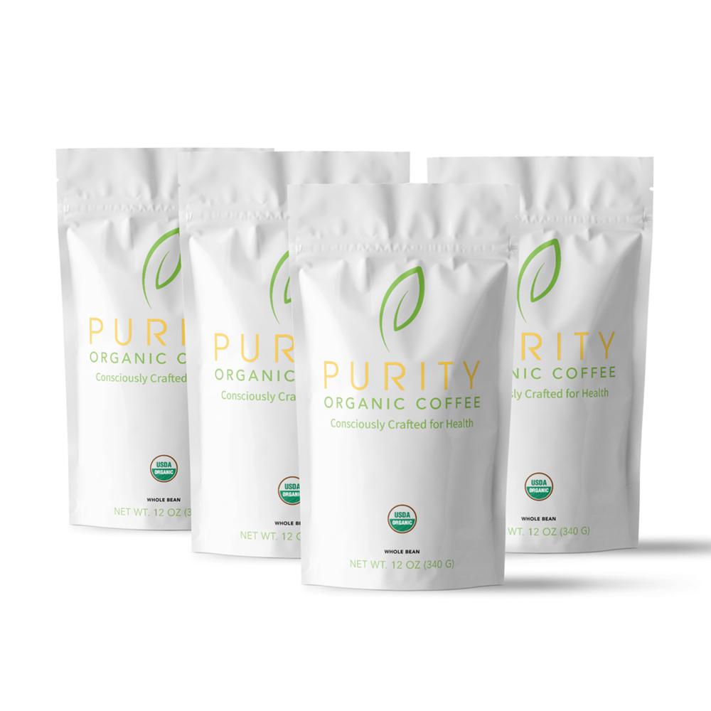 Organic coffee bag