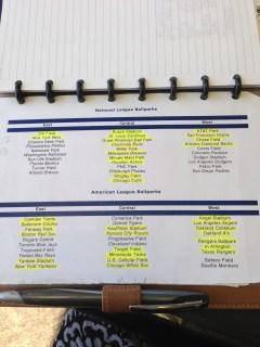 Baseball list