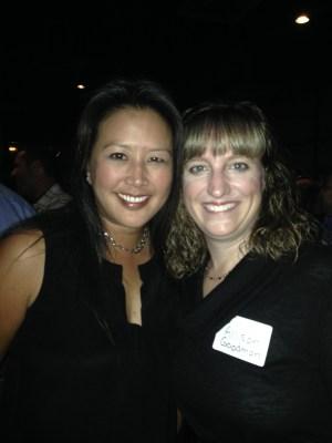 Conant High School 25th reunion Allison Goodman Spaitis & Karen Eng