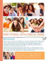 How To Deal With Lying in Teens
