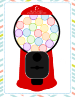 Gum Ball Sticker Chart