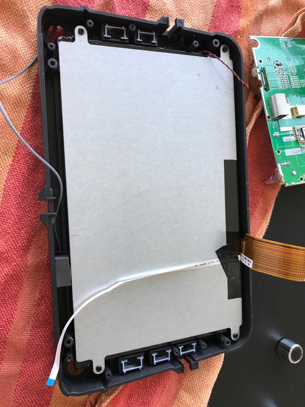 Change LCD display CARPAD 3 NEWSMY DYI