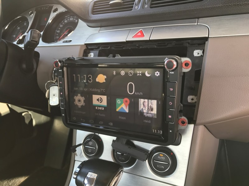 Change Touch screen/LCD display CARPAD 3 NEWSMY DYI