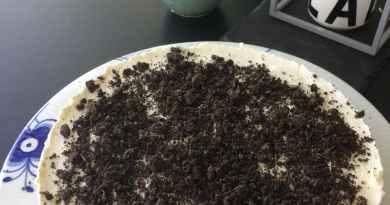 oreo cheesecake med oreos super lækker opskrift god