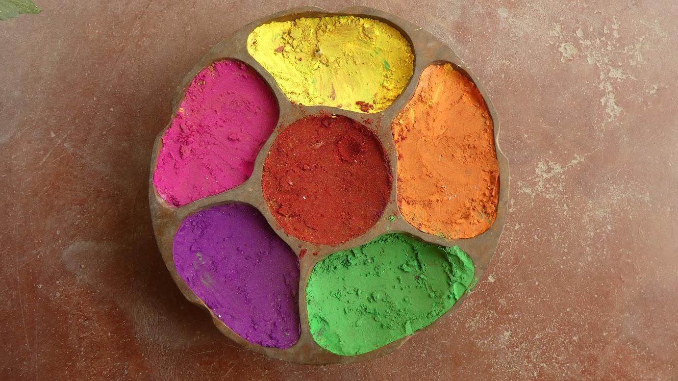 Indiske naturfarver