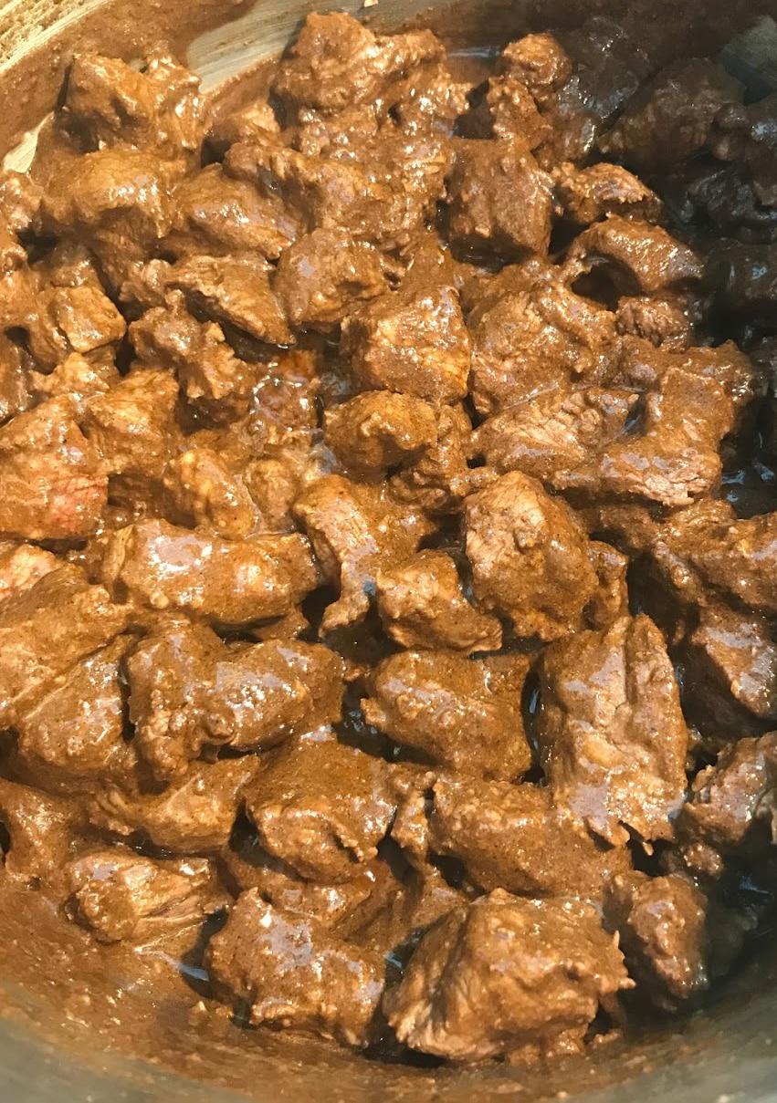 Indisk ret med oksekød og Garam Masala lav din egen