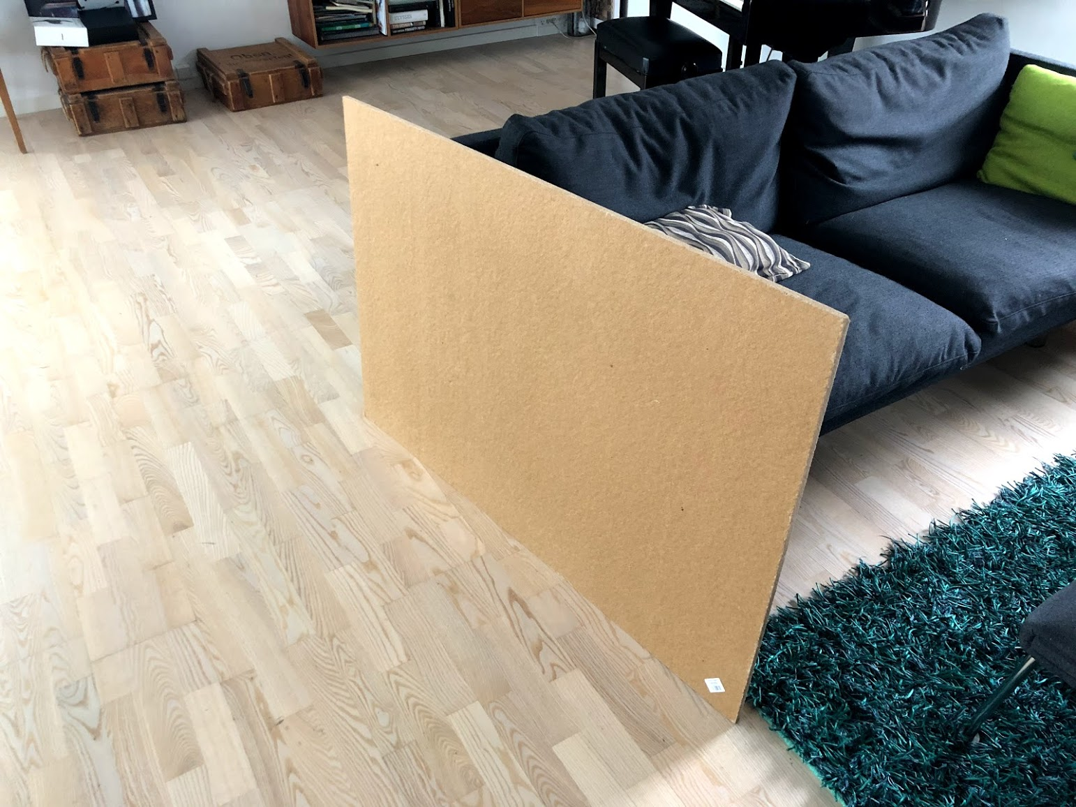 lav din egen opslagstavle hjemmelavet inspiration hvilken plade masonit træfiber hvordan laver man hjemmelavet tavle