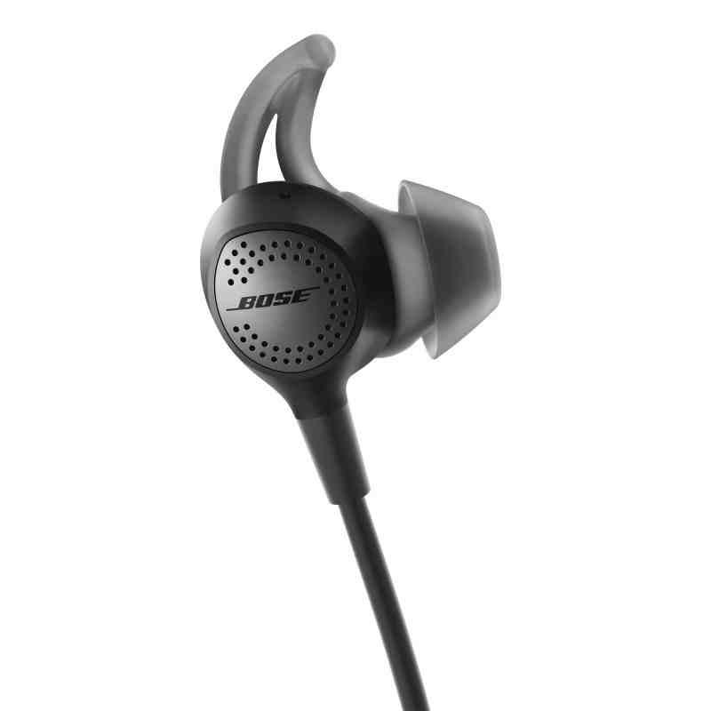 QC30 quietcomfort 30 test trådløse høretelefoner in-ears inears støjreduktion aktiv passiv støjdæmpning telefon bluetooth headset høretelefoner hørebøffter test anmeldelse af