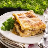 italiensk lasagne opskrift lasagna god lækker opskrift på den bedste ragu italien mad