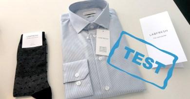 Test pletfri skjorte Labfresh