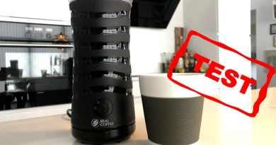 test af mælkeskummer anmeldelse af realcoffee mælkeskummeren