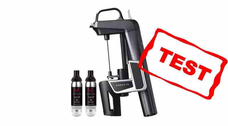 coravin test anmeldelse af model 2 god gave til vinelsker vin skænkeprop vinskænkeprop gas argongas koravin