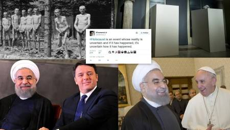 Rouhani in europa collage