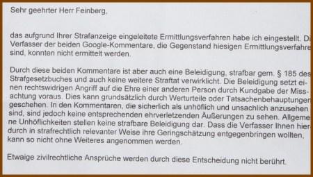 feinberg staatsanwalt