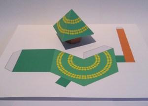 Cut n paste Christmas tree