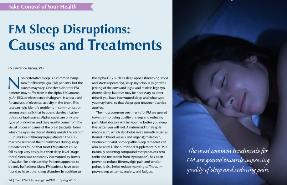The New Fibromyalgia Aware Magazine Dr. Tucker is featured in