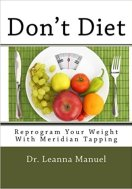 book cover for Don't Diet Reprogramming Your Weight With Meridian Tapping