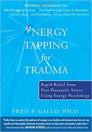Energy Tapping for Trauma by Fred Gallo book cover from amazon.com