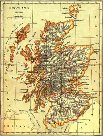 Scotland 1641-1892
