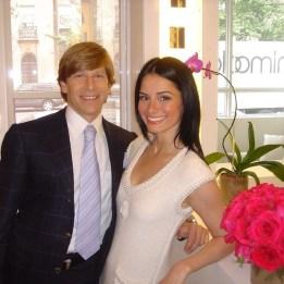 Dr. Lisa Airan and her husband, Dr. Trevor Born. Photo courtesy of Vogue Magazine